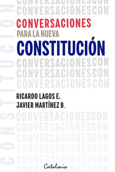 Conversaciones para la nueva Constitución - cover