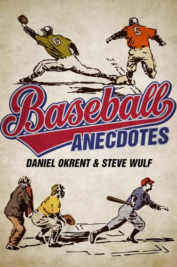 Baseball Anecdotes - cover