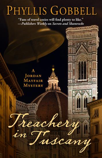 Treachery in Tuscany - cover