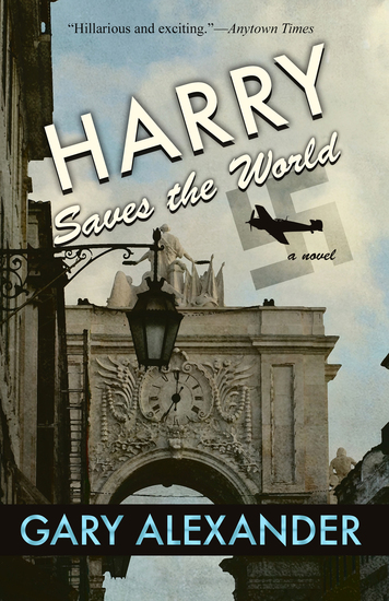 Harry Saves the World - cover
