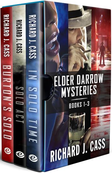 Elder Darrow Mysteries: Books 1-3 - In Solo Time Solo Act and Burton's Solo - cover