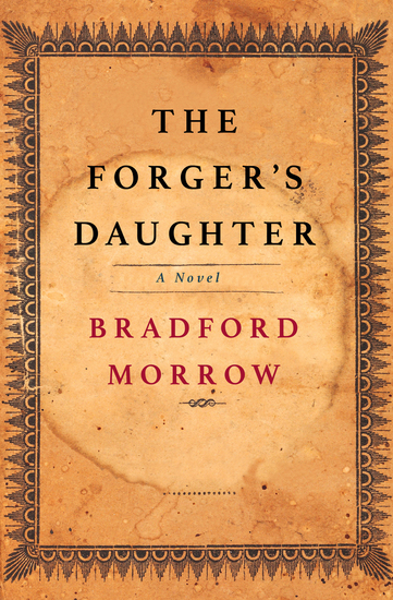 The Forger's Daughter - A Novel - cover