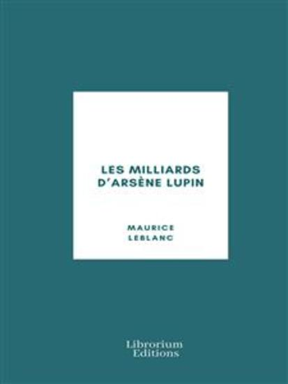Les Milliards d'Arsène Lupin - cover