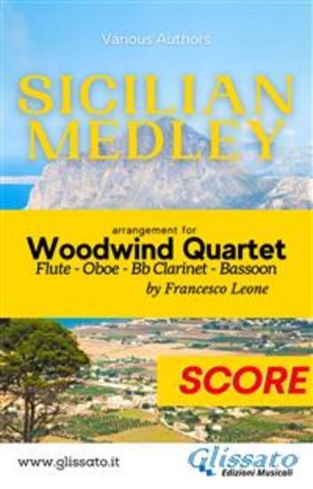 Sicilian Medley - Woodwind Quartet (score) - cover