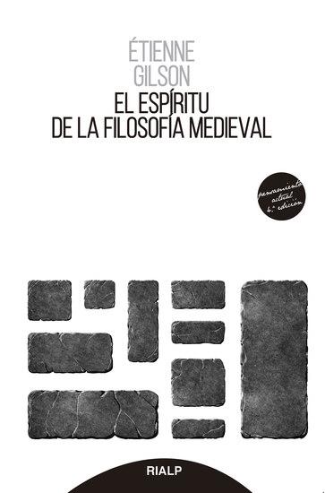El espíritu de la filosofía medieval - cover