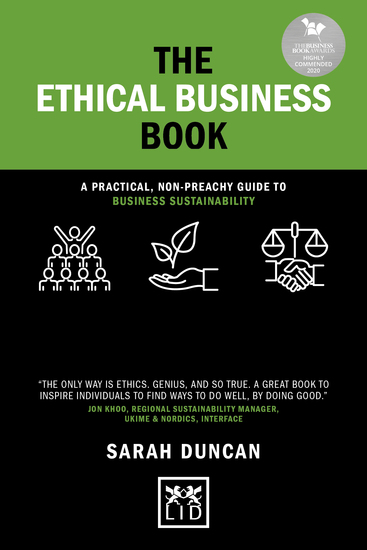 The Ethical Business Book - A practical non-preachy guide to business sustainability - cover