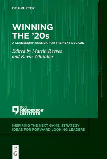 Winning the '20s - A Leadership Agenda for the Next Decade - cover