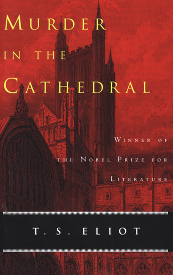 Murder in the Cathedral - cover
