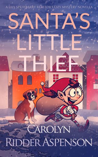 Santa's Little Thief - cover