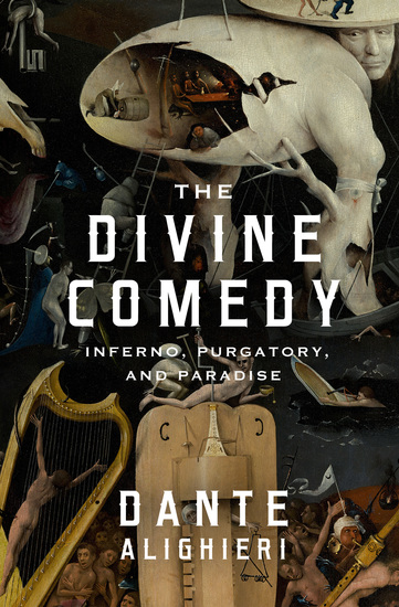 The Divine Comedy - Inferno Purgatory and Paradise - cover