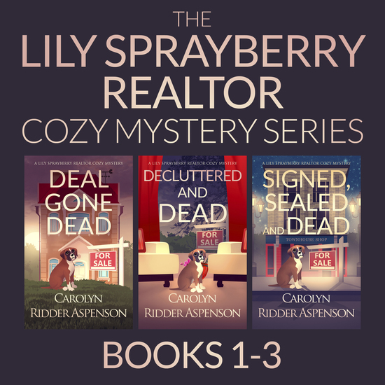 The Lily Sprayberry Cozy Mystery Series Books 1–3 - Deal Gone Dead; Decluttered and Dead; and Signed Sealed and Dead - cover