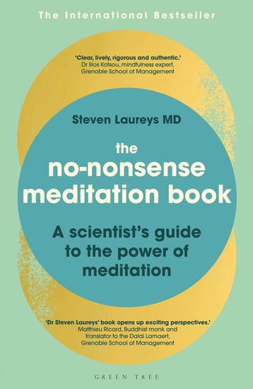 The No-Nonsense Meditation Book - A scientist's guide to the power of meditation - cover