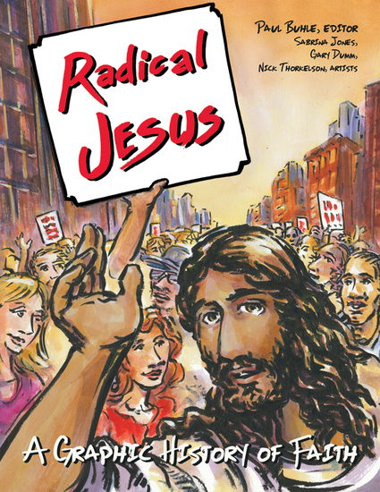 Radical Jesus - A Graphic History of Faith - cover