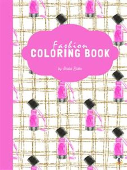 Fashion Coloring Book for Teens (Printable Version) - cover
