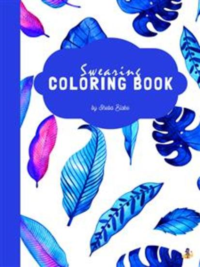 Teachers Swearing Coloring Book for Teens (Printable Version) - cover