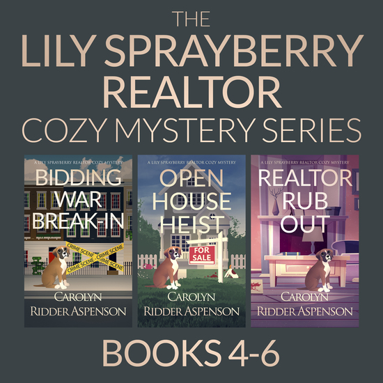 The Lily Sprayberry Cozy Mystery Series Books 4-6 - cover