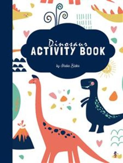 Dinosaur Activity Book for Kids Ages 3+ (Printable Version) - cover