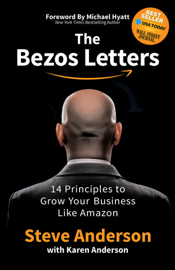 The Bezos Letters - 14 Principles to Grow Your Business Like Amazon - cover