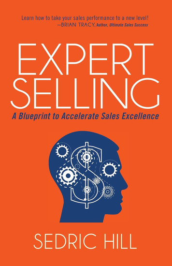 Expert Selling - A Blueprint to Accelerate Sales Excellence - cover