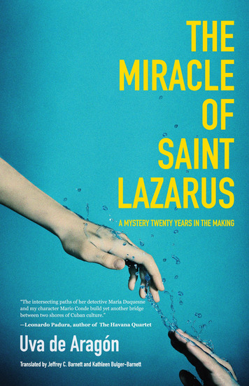 The Miracle of Saint Lazarus - A Mystery Twenty Years in the Making - cover