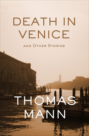 Death in Venice - And Other Stories - cover