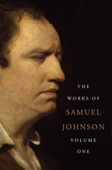 The Works of Samuel Johnson Volume One - cover