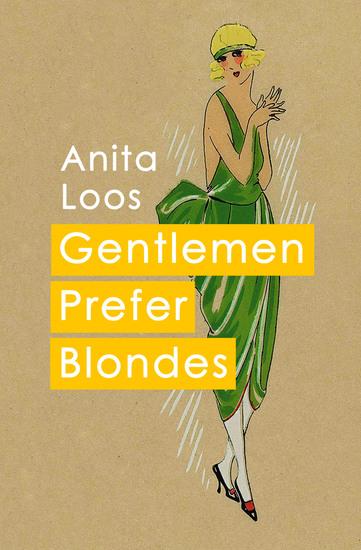 Gentlemen Prefer Blondes - cover