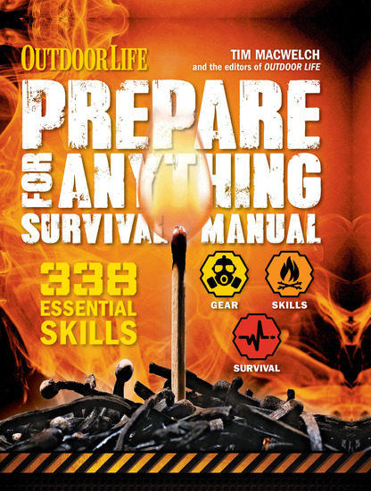 Prepare for Anything Survival Manual - 338 Essential Skills - cover