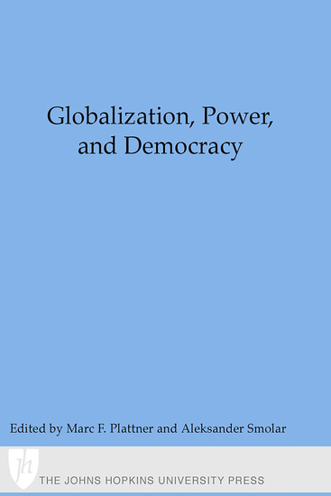 Globalization Power and Democracy - cover