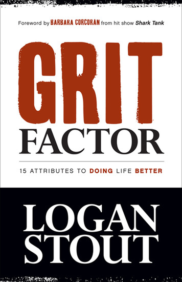 Grit Factor - 15 Attributes to Doing Life Better - cover
