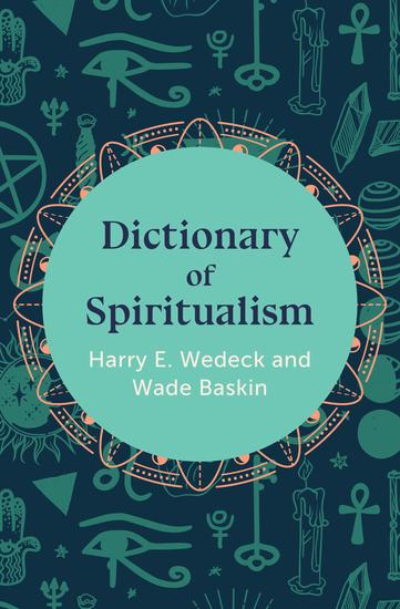 Dictionary of Spiritualism - cover