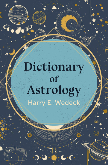 Dictionary of Astrology - cover