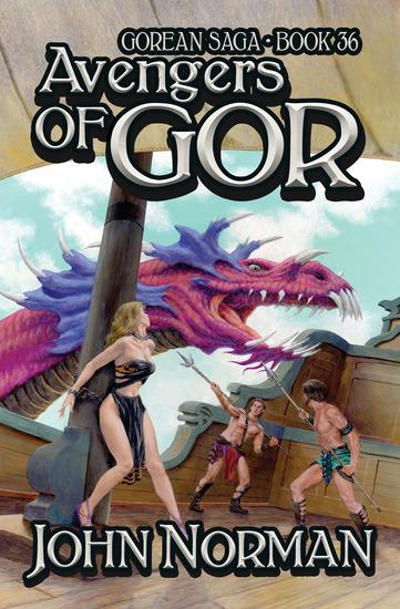 Avengers of Gor - cover