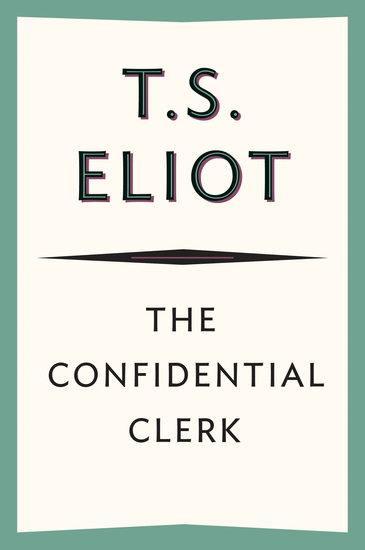 The Confidential Clerk - cover
