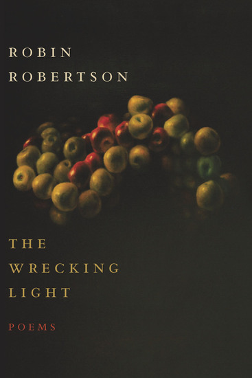 The Wrecking Light - Poems - cover