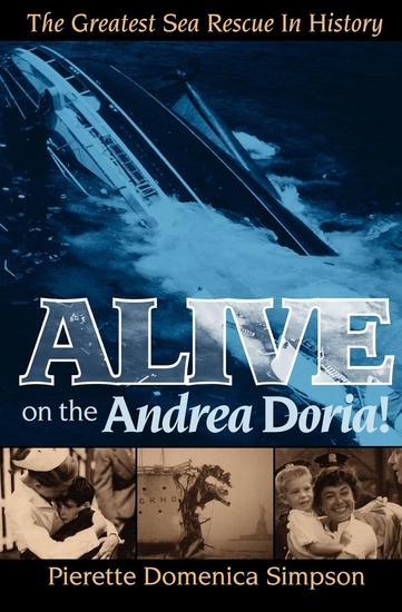 Alive on the Andrea Doria! - The Greatest Sea Rescue in History - cover