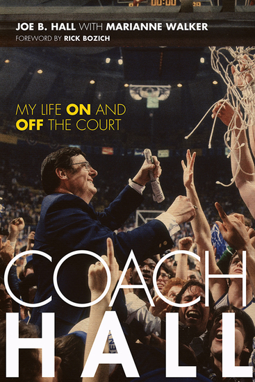 Coach Hall - My Life On and Off the Court - cover