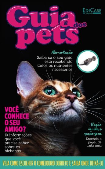 Guia dos Pets Ed 06 - Você Conhece o Seu Amigo? - 10 informações que você precisa saber sobre os bichanos - cover