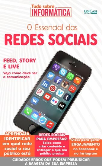 Tudo sobre informática Ed 19 - O Essencial das Redes Sociais - cover