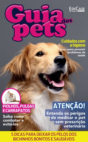 Guia dos Pets Ed 08 - Cuide da Saúde do Seu Pet - cover