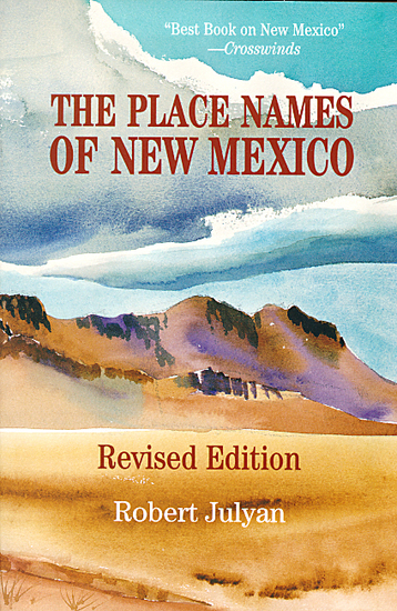 The Place Names of New Mexico - cover