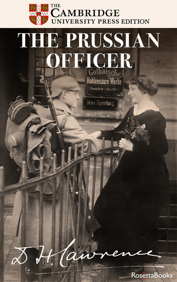 The Prussian Officer - cover