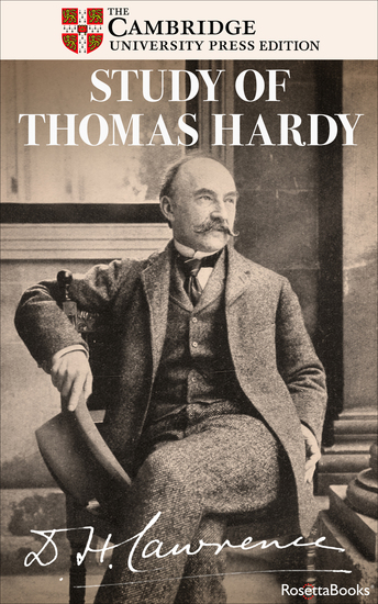 Study of Thomas Hardy - And Other Essays - cover