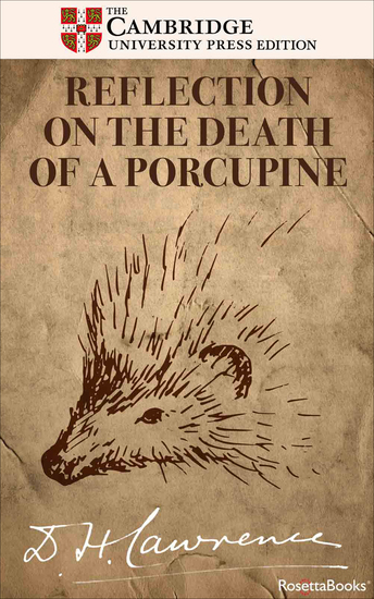 Reflection on the Death of a Porcupine - And Other Essays - cover