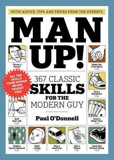 Man Up! - 367 Classic Skills for the Modern Guy - cover