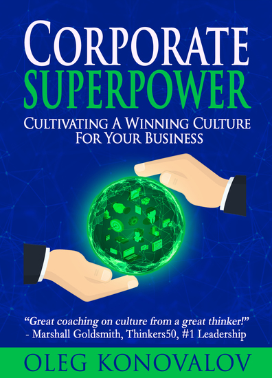 Corporate Superpower - Cultivating A Winning Culture For Your Business - cover