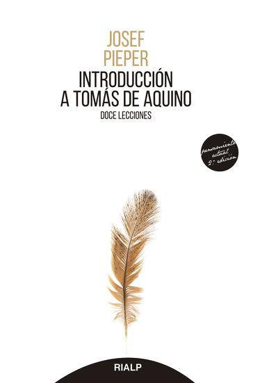 Introducción a Tomás Aquino - Doce lecciones - cover