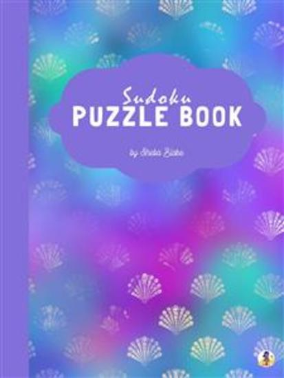 Mermaid Sudoku Puzzle Book for Kids (Easy Level) (Printable Version) - cover
