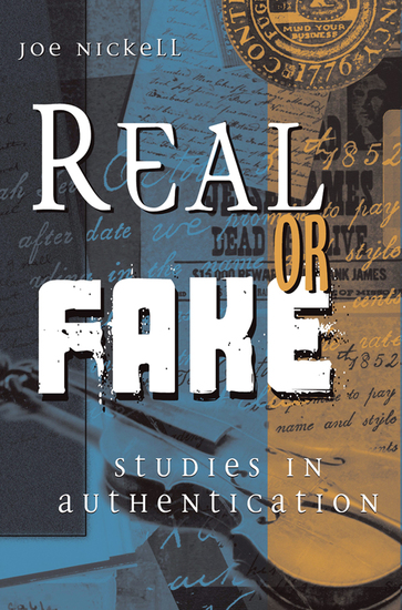 Real or Fake - Studies in Authentication - cover