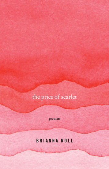The Price of Scarlet - Poems - cover